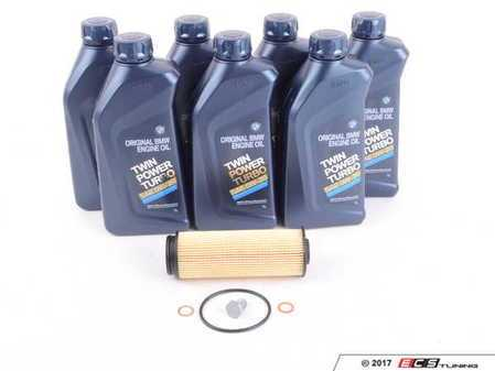 ES#3419614 - F3XOSK - Build-Your-Own Oil BMW B58 Oil Change Kit - Select the oil and filter you want from many of the top brands! - Assembled By ECS - BMW