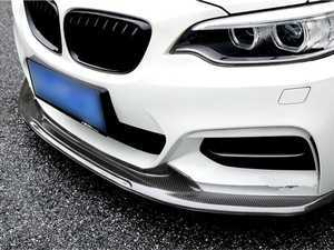 ES#3410537 - F223DCFLIP - Performance Carbon Fiber Front Lip - Unique style. Aggressive looks. This carbon fiber front lip is the perfect touch for any new BMW - ARMA - BMW
