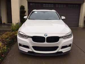 ES#3410541 - F30MTVCFLIP - M-Tech Performance Carbon Fiber front lip - Unique Style. Aggressive looks. This carbon fiber front lip is the perfect touch for any new BMW - ARMA - BMW
