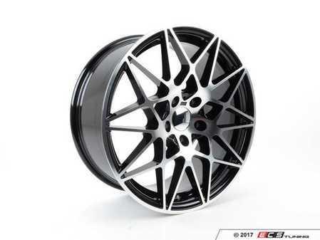 "ES#3411416 - 758-2KT - 19"" Style 758 Wheels - Square Set Of Four - 19x9.5"" ET35 5x120 72.6CB - Machined Finish - Alzor - BMW"