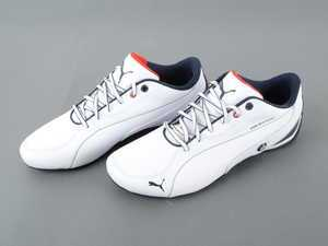 ES#2859994 - 80162354993 - BMW Motorsport Drift Cat 5 Shoes - White, Size 7 - The ultimate driving shoes for your ultimate driving machine - Genuine BMW - BMW