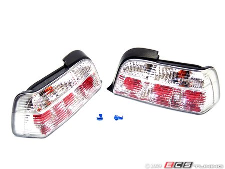 ES#10703 - FKRL70 - Tail Light Set - Crystal White - Crystal white tail lights are excellent for light colored BMWs - FK -