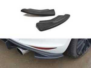 ES#3411526 - VW-GO7-GTIRSD1-G - Rear Side Splitter Set - Gloss Black - Enhance your GTI's exterior appearance - Maxton Design - Volkswagen