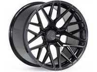 "ES#3411249 - fx1020115112gKT4 - 20"" RFX10 Wheels - Set Of Four - 20""x11"", ET30, CB66.6, 5x112 - Gloss Black - Rohana Wheels - Audi"