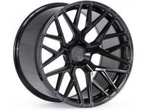 "ES#3411405 - fx102095112gKT5 - 20"" RFX10 Wheels - Set Of Four - 20""x9"", ET25, CB66.6, 5x112 - Gloss Black - Rohana Wheels - Audi"