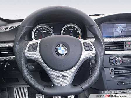 ES#3410901 - 323487330 - AC Schnitzer EVO Steering Wheel - (NO LONGER AVAILABLE) - with paddle shifters for a sportier feel - AC Schnitzer -