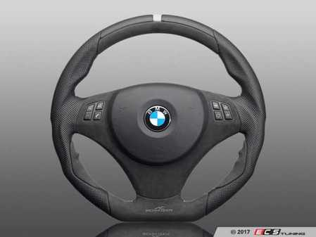 ES#3410898 - 323410520 - AC Schnitzer EVO1 Steering Wheel - Featuring grey stitching with muti-function and without paddles - AC Schnitzer - BMW