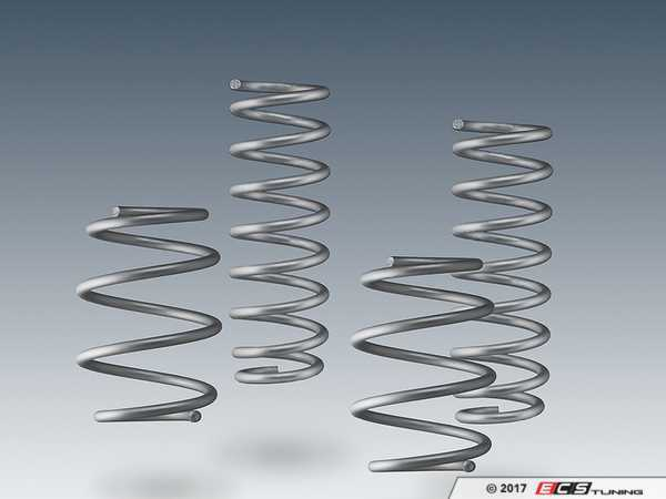 ES#3410833 - 3130230330 - AC Schnitzer Performance Spring Kit - A subtle drop with performance in mind - AC Schnitzer - BMW