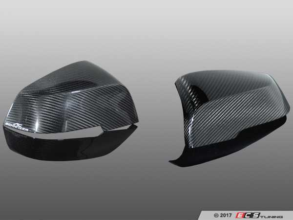 ES#3411034 - 5116222110 - AC Schnitzer Carbon Fiber mirror covers - A nice touch of carbon for a subtle yet aggressive look - AC Schnitzer - BMW