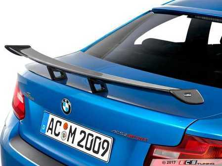ES#3411119 - 5162287210 - AC Schnitzer Carbon Fiber Race Spoiler - Add an aggressive look to your BMW with this carbon fiber race spoiler - AC Schnitzer - BMW