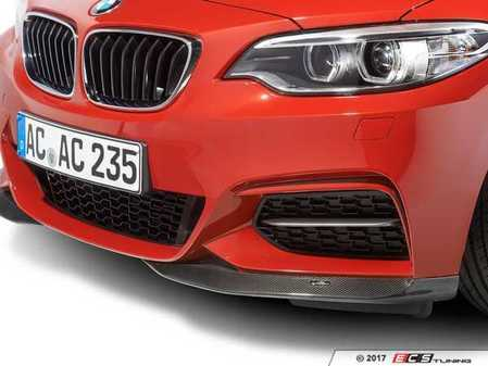 ES#3410950 - 5111222320 - AC Schnitzer carbon fiber front splitters - Add an aggressive look with the unique styling of AC Schnitzer - AC Schnitzer - BMW