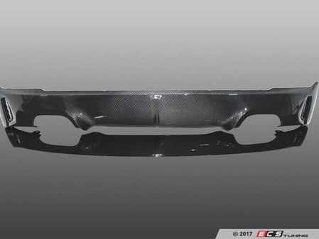 ES#3410982 - 5112222320 - AC Schnitzer Carbon Fiber rear diffuser - Add the aggressive looks of carbon fiber with the unique style of AC Schnitzer - AC Schnitzer - BMW