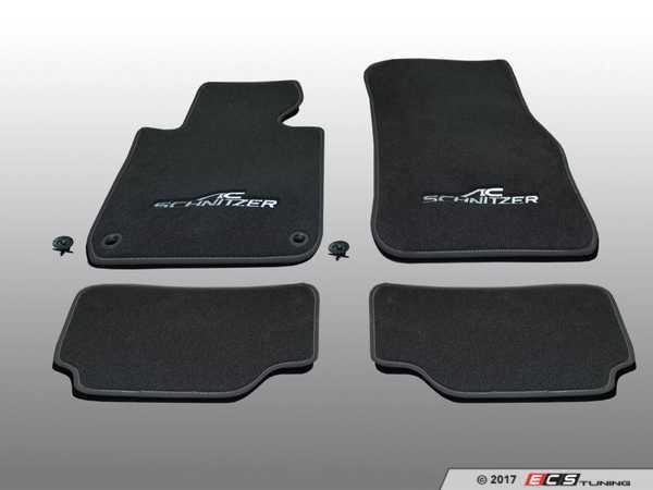 ES#3411073 - 5147220330 - AC Schnitzer Floot Mats - A new look to enhance your interior - AC Schnitzer - BMW