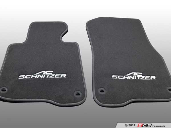 ES#3411072 - 5147220311 - AC Schnitzer Floot Mats - A new look to enhance your interior - AC Schnitzer - BMW