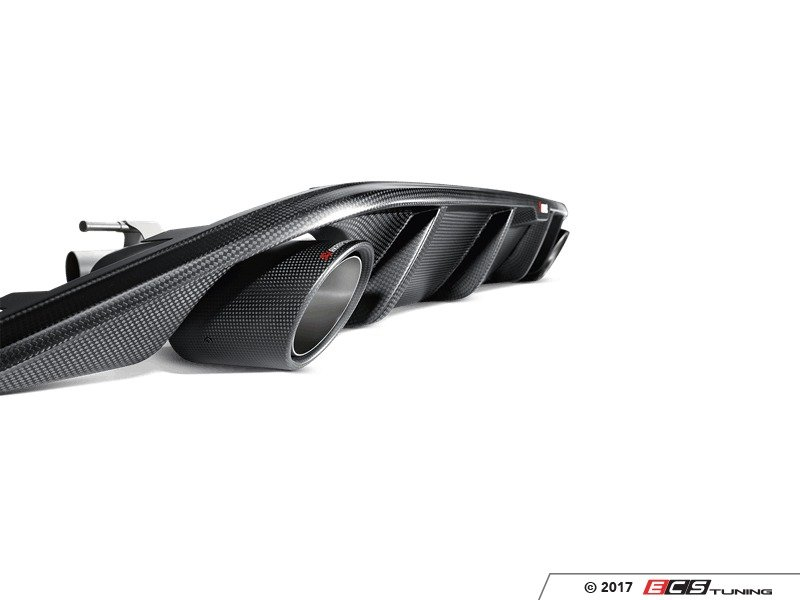 ECS News - Akrapovic Exhausts Now Available for VW/Audi