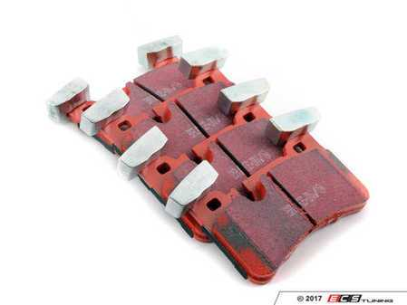 ES#2620808 - DP32117C - Rear Redstuff Ceramic Performance Brake Pad Set - High performance street pad featuring Kevlar technology - EBC - Mercedes Benz