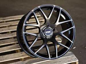 """ES#3411857 - v13c00-5112571KT - 18"""" V710 - Set Of Four  - 18""""X8.5"""" ET45 5x112 - Titanium Black Pearl - VMR - Audi Volkswagen"""