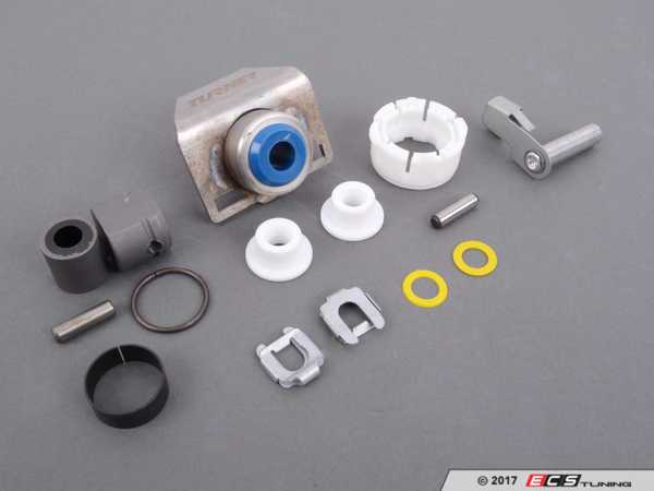 ES#2635824 - 25117519669KT5 - Shifter Rebuild & Upgrade Kit - Overhaul your shifter: featuring ECS Tuning teflon shifter bushings and Turner Shifter Bushing Assembly for a feeling better than new! - Assembled By ECS - BMW