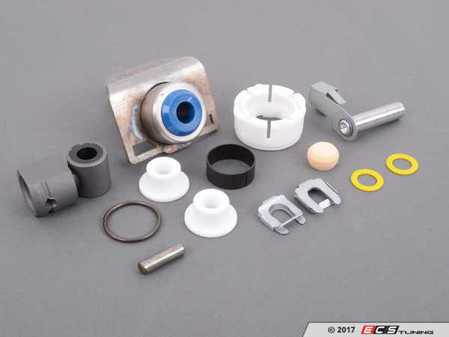 ES#3248051 - e346cylsrKT1 - Shifter Rebuild & Upgrade Kit - Overhaul your shifter: featuring ECS Tuning teflon shifter bushings and Turner Motorsport Shifter Bushing Assembly for a feeling better than new! - Assembled By ECS - BMW