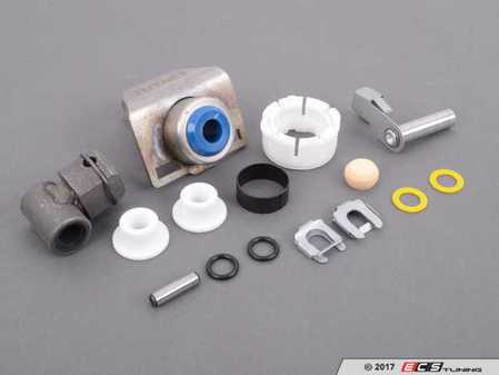 ES#2635792 - 25117519669KT3 - Shifter Rebuild & Upgrade Kit - Overhaul your shifter: featuring ECS Tuning teflon shifter bushings and Turner Shifter Bushing Assembly for a feeling better than new! - Assembled By ECS - BMW