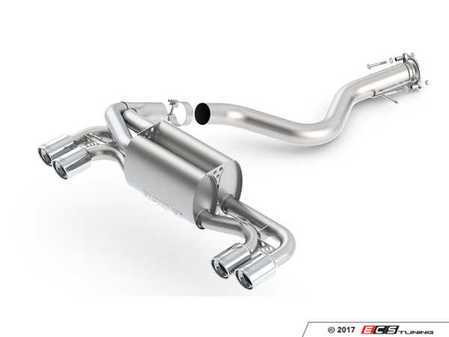 ES#3031845 - 11820 - Borla ATAK Exhaust - Rear Muffler - Acoustically Tuned Applied Kinetics (ATAK) - allows a very high volume without drone and distortion - Borla - BMW
