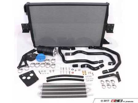 ES#3412051 - FMCCRAD3 - Charge Cooler And Expansion Tank Upgrade Kit - Upgrade your supercharger cooling system - Forge - Audi