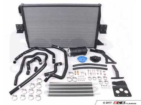 ES#3412053 - FMCCRAD4 - Charge Cooler And Expansion Tank Upgrade Kit - Forge - Audi