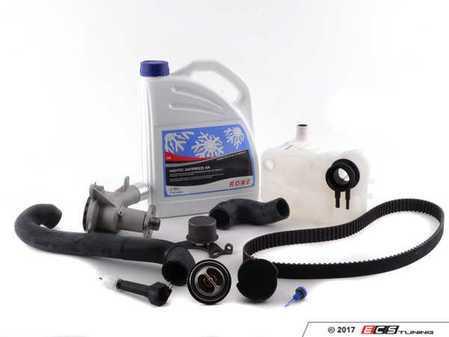 ES#2863219 - 11519071562KT - ECS Cooling System Refresh Kit - Level 1 - An entry level cooling refresh kit - with aftermarket components, featuring a GEBA Water Pump - Assembled By ECS - BMW