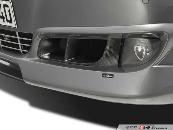 ES#3034404 - 5111210120 - AC Schnitzer Carbon Brake Air Ducts  - Enhanced brake cooling with a touch of class - AC Schnitzer - BMW