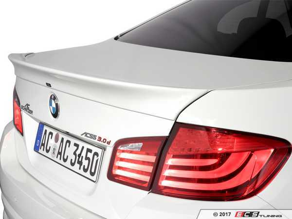 ES#3034528 - 5162210110 - AC Schnitzer Rear Spoiler  - Add unique style and aggressive looks with a new rear spoiler - AC Schnitzer - BMW