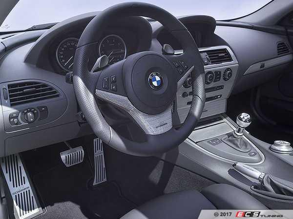 ES#3411055 - 514563010 - AC Schnitzer Carbon Fiber Interior Trim - Silver - Drastically change the looks of your interior - AC Schnitzer - BMW