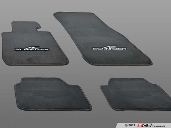 ES#3411097 - 514765160 - AC Schnitzer Floor Mats - An easy way to upgrade the look of your interior - AC Schnitzer - BMW
