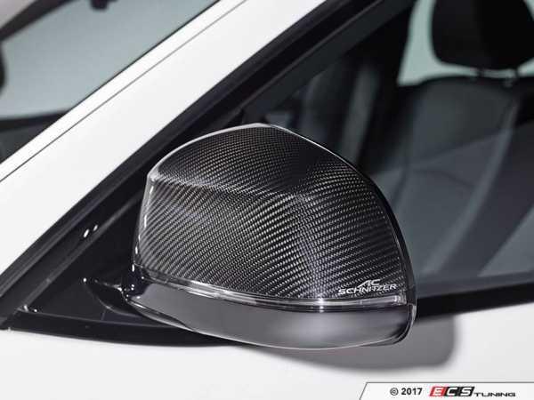 ES#3411035 - 5116226110 - AC Schnitzer Carbon Fiber mirror covers - A subtle change to add a unique style - AC Schnitzer - BMW