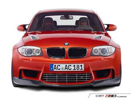 ES#3410970 - 511182520 - AC Schnitzer Carbon Fiber Front Spoiler - Give your 1M a unique style you can only get from AC Schnitzer - AC Schnitzer - BMW