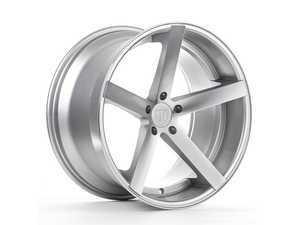 "ES#3418658 - rc101985et33KT4 - 19"" RC10 Wheels - Square Set Of Four - 19x8.5"" ET33 5x120 72.56CB - Machined Silver with a Chrome Lip - Rohana Wheels - BMW"