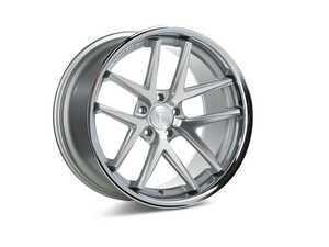 "ES#3419894 - rc91985et33KT4 - 19"" RC9 Wheels - Square Set Of Four - 19x8.5"" ET33 5x120 72.56CB - Machine Silver with Stainless Lip - Rohana Wheels - BMW"