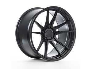 """ES#3418688 - rf21985et33KT3 - 19"""" RF2 Wheels - Square Set Of Four - 19x8.5"""" ET33 5x120 72.56CB - Matte Black - Rohana Wheels - BMW"""