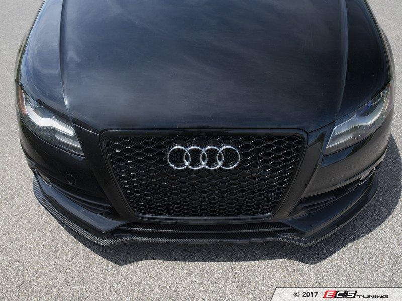ECS News - ECS Carbon Fiber Front Lip Spoiler   Audi B8 A4/S4
