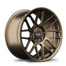 "ES#3419148 - arc818mbKT1 - 18"" APEX ARC-8 Staggered Wheel Set - Matte Bronze - Shed weight and add style with APEX wheels! 18x8.5"" ET38/18x9.5"" ET35. - APEX Wheels - BMW"