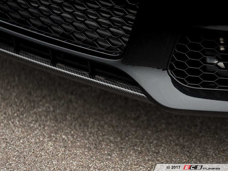 Ecs News Ecs Carbon Fiber Front Lip Spoiler Audi B8 A4s4