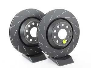 ES#2072455 - USR7422 - Rear Slotted Brake Rotors - Pair (310x22) - Reduce the fading, improve your braking - EBC - Audi Volkswagen