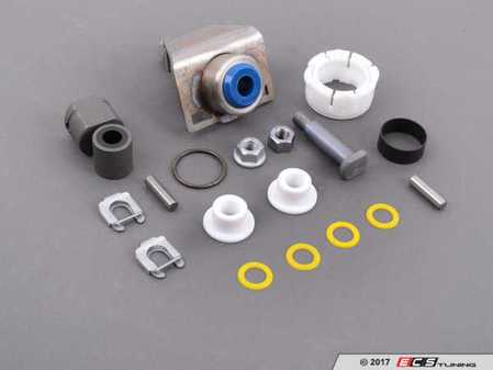 ES#3149352 - 25117519669KT6 - Shifter Rebuild & Upgrade Kit - Overhaul your shifter: featuring ECS Tuning teflon shifter bushings and Turner Shifter Bushing Assembly for a feeling better than new! - Assembled By ECS - BMW