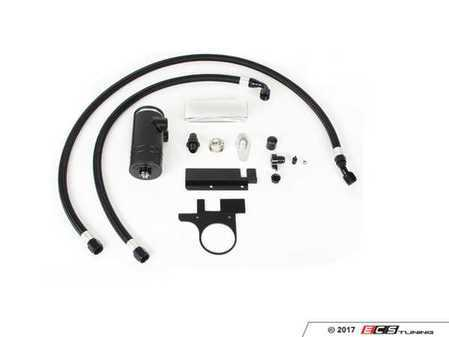 """ES#3021897 - CCT003 - BFI """"Clean Catch"""" - Crankcase Oil Separator KIT - Keep your intake tract clean and oil free, with this BFI baffled Oil Catch Can System - Black Forest Industries - Audi"""