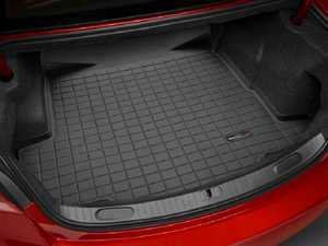 ES#3419517 - 40972 - Rear Trunk Liner - Black - The best protection for your trunk in any situation - WeatherTech - Audi