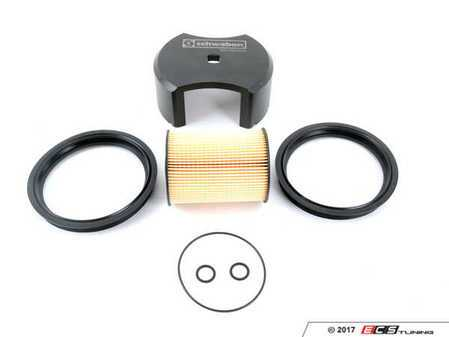 ES#3184756 - 16146757196KT - Fuel Filter Kit & Lock Ring Tool - Includes Genuine MINI gaskets and filter to keep your fuel clean - Assembled By ECS - MINI