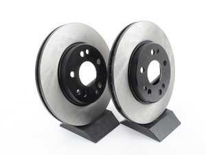 ES#2622607 - 1244211612KT2 - Front Brake Rotors - Pair - Does not include new rotor securing screws - OP Parts - Mercedes Benz