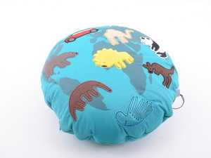 ES#3186101 - 80452445717 - MINI World Cushion - Patchwork small cushion/pillow - Genuine MINI - MINI
