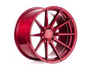 """ES#3420240 - rf12010x2011KT1 - 20"""" RF1 Wheels - Staggered Set Of Four - 20x10"""" ET25 & 20x11"""" ET28, 5x120, 74.1mm with 72.56mm Adapter - Gloss Red - Rohana Wheels - BMW"""
