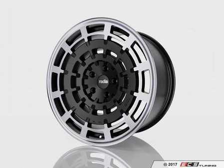 """ES#3420413 - SD11198551124KT1 - 19"""" R8SD11 - Set Of Four - 19""""x8.5"""" ET45 5x112 - Dark Mist - Radi8 - Audi Volkswagen"""