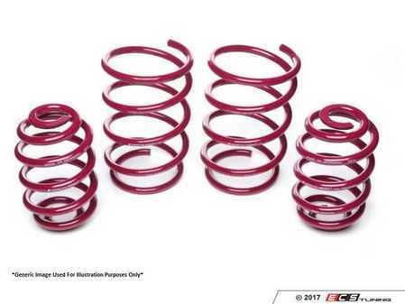 ES#3420399 - 950008 - VOGTLAND Sport Spring Set - (NO LONGER AVAILABLE) - Lower and optimize your cars suspension - VOGTLAND - Audi Volkswagen